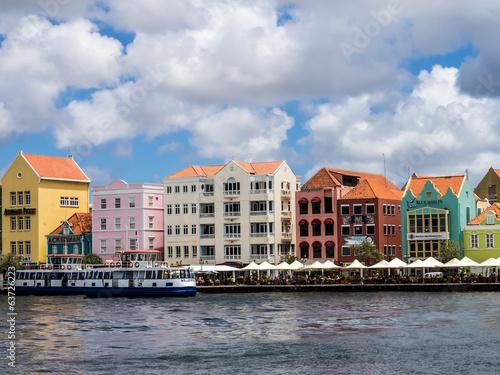 Foto op Plexiglas Caraïben Views around Curacao capital city