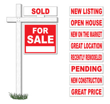 For Sale Sign With Interchange...