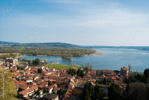Fotografie, Obraz  lake Maggiore