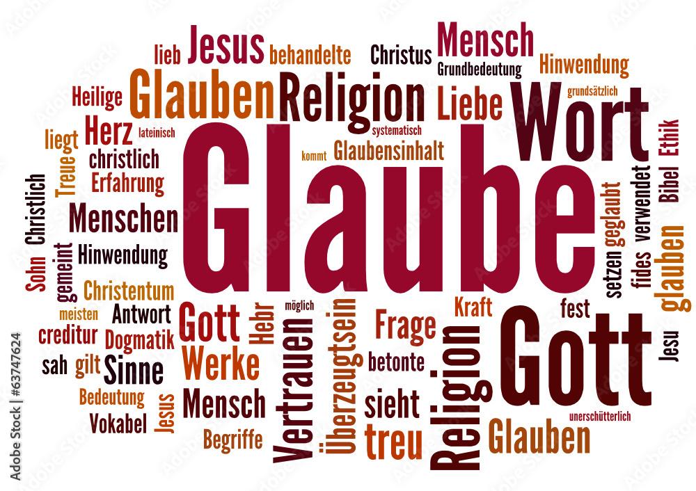 Fototapeta Glaube (Religion, Gott)