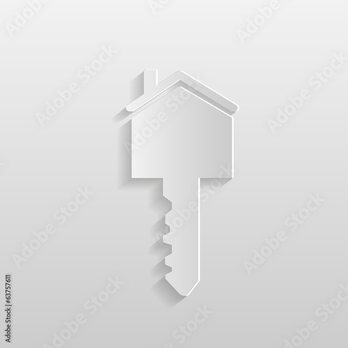 Paper House Key