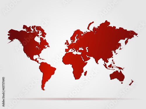 mapa-swiata-czerwony