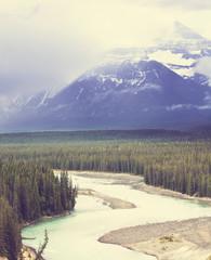 Fototapeta kanadyjskie góry