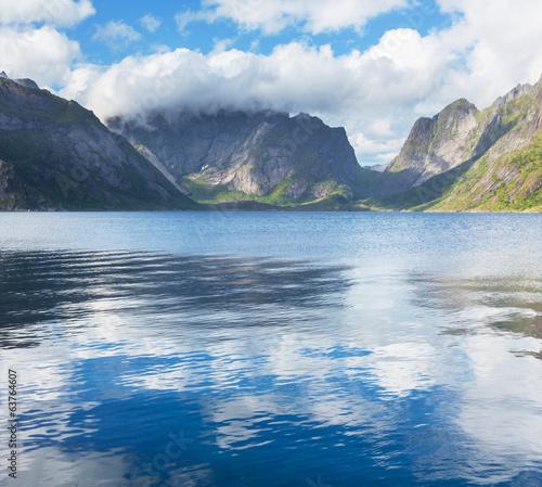 Poster Lac / Etang Norway landscapes