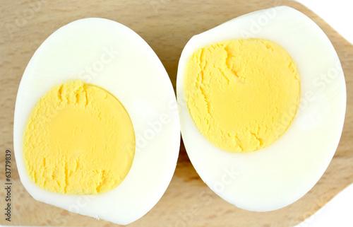 Fototapeta jajko na twardo obraz