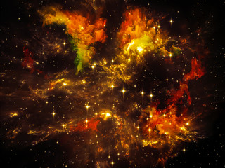 Fototapeta na wymiar Inner Cosmos