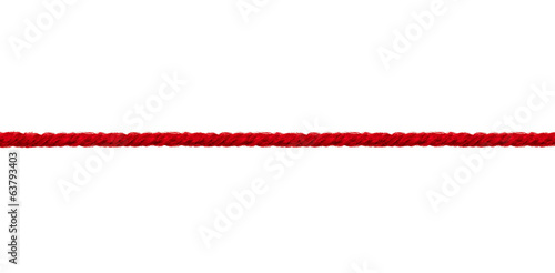 wool string rope cord cable line Fototapeta