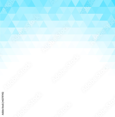 Fotobehang - Abstract triangle mosaic background