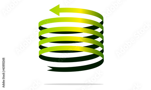 Photo Stands Spiral freccia spirale