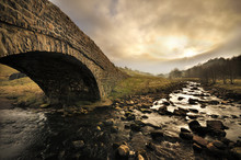 Bridge And River In Yorkshire