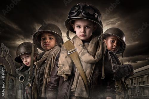 Fotografía  Boy Soldiers