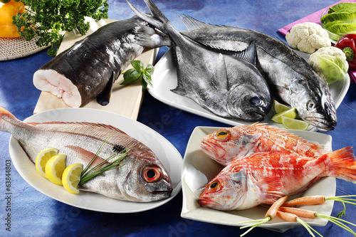 Papiers peints Poisson assortedfres fish