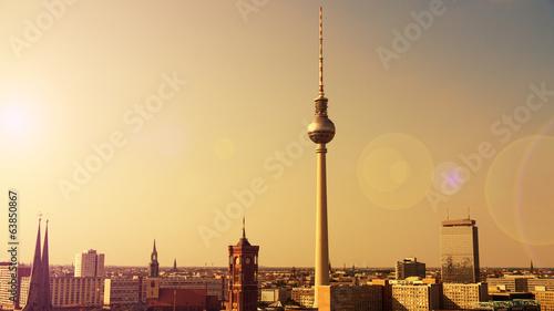 Keuken foto achterwand Berlijn berlin im sonnenlicht