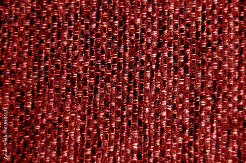 Valokuva  Red fabric wallpaper background close-up