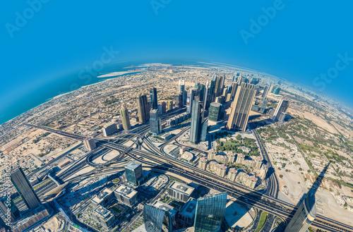 centrum-dubaju-architektura-wschodnia-zjednoczone-emiraty-arabskie-antenowy