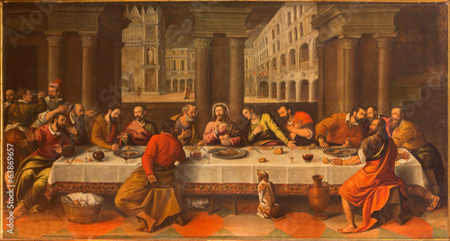 Bologna - Last supper of Christ by Cesare Conegliano - 63869657