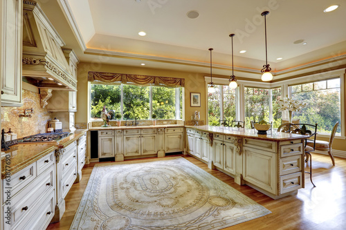 Luxury House Interior Antique Kitchen Cabinets Buy This Stock