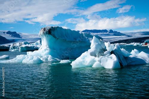 Foto auf Gartenposter Antarktika Jokulsarlon Glacial Lagoon in Iceland