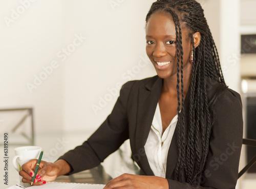 African Woman Canvas-taulu