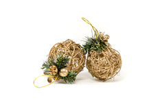 Two Wattle Christmas Tree Deco...