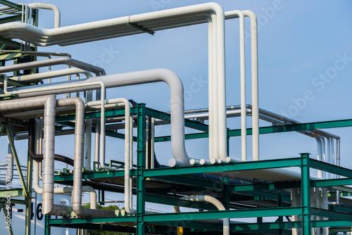 Obraz na plátně Industrial plant