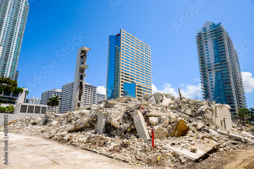 Construction site Fototapeta