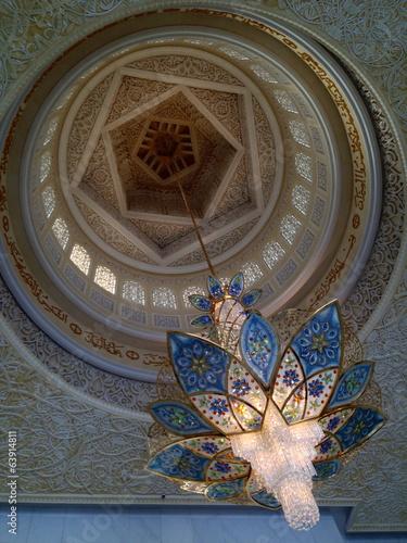 Fotobehang Midden Oosten Sheikh Zayed Mosque in Abu Dhabi