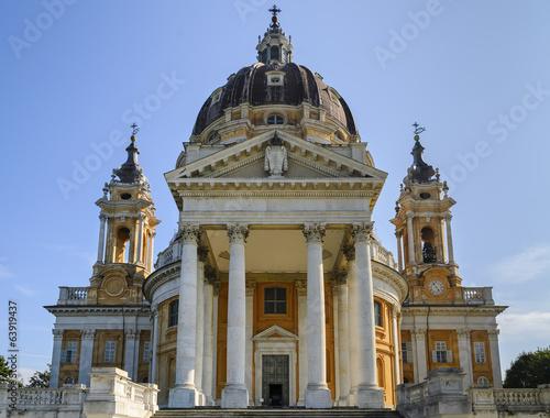 Fotobehang Basilica di Superga