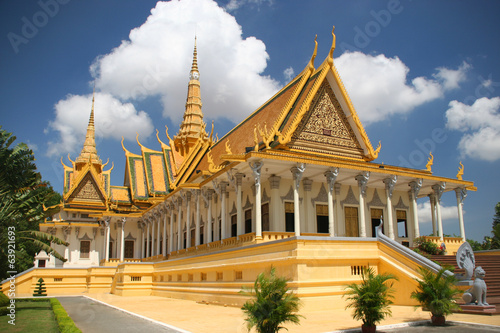 Fotografía  Royal palace in Phnom Penh