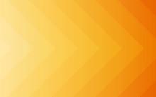 Summer Gradient Orange Arrow Pattern Background