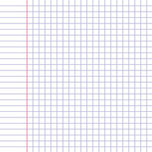 Blank Workbook Sheet With Tiles.