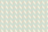 Blue and cream patterned wallpaper - 63930068