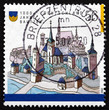 Postage stamp Germany 2002 Bautzen, Town in Eastern Saxony