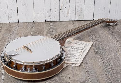banjo Wallpaper Mural