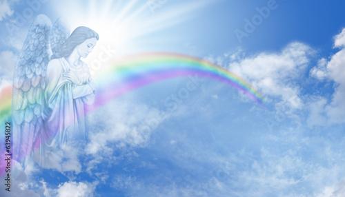 Photo  Rainbow Angel