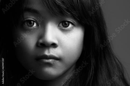 Fotografie, Obraz  Malá Asiatka