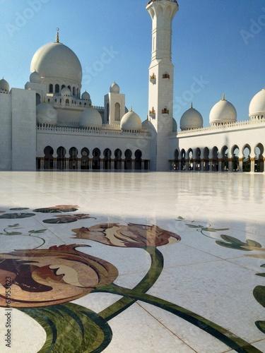 Fotobehang Midden Oosten Sheikh Zayed Grand Mosque Center in Abu Dhabi