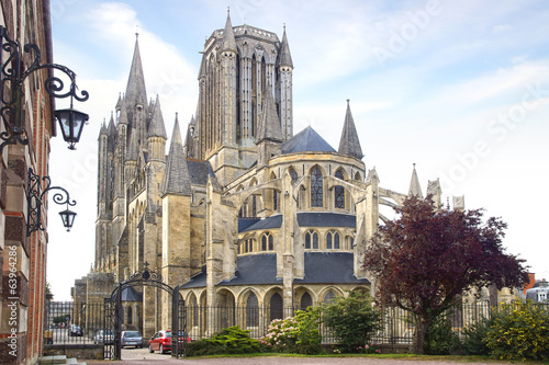 Fotografie, Obraz Cathedral in Coutances, France