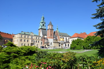 Fototapeta Architektura Château royal du Wawel,Cracovie