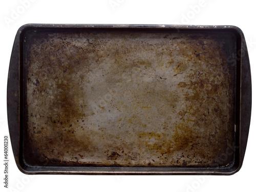 Valokuvatapetti stained baking tray