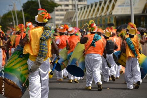Foto op Plexiglas Caraïben Le défilé