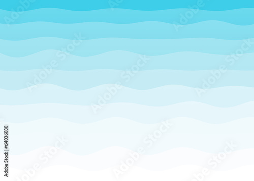 Wall mural - Abstract blue wave background