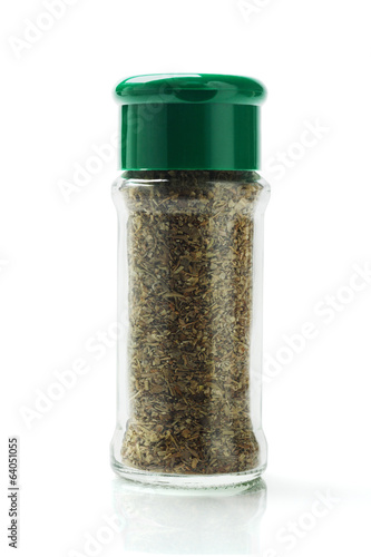 Photo  Bottle Of Mixed Herbs