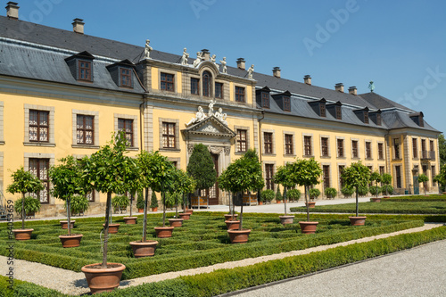 Photo The old palace of Herrenhausen gardens, Hannover, Germany