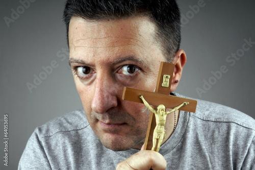 Fotografia Religious Man