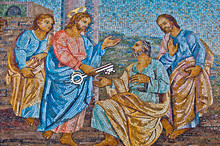 The Giving Of The Keys To Saint Peter
