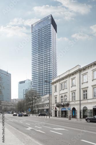 Cosmopolitan building in Warsaw - 64067678