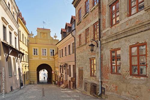 Fototapeta Brama Grodzka w Lublinie obraz