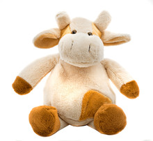 Sitting Cow Soft Toy