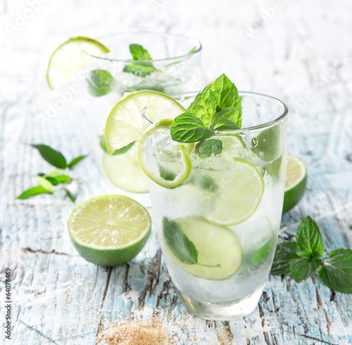 Fotografie, Tablou  fresh mojito drink